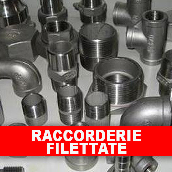 Raccorderie filettate