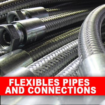 Flexibles pipe and connections