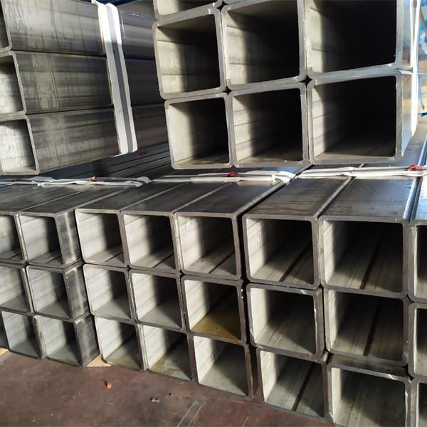 Tubi quadri in acciaio inox